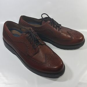 Dockers mens brown leather shoes size 9.5